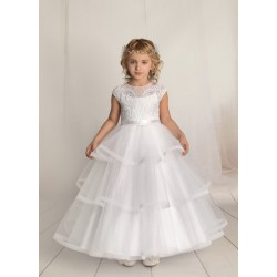 Handmade First Holy Communion Dress Style F02