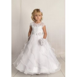 Handmade First Holy Communion Dress Style F04