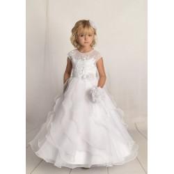 Handmade First Holy Communion Dress Style F04