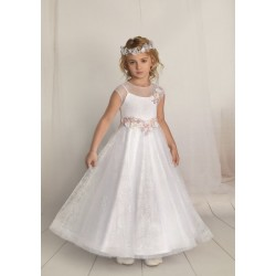 Handmade First Holy Communion Dress Style F05