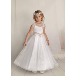 Handmade First Holy Communion Dress Style F05