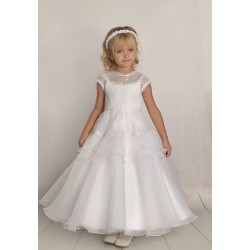 Handmade First Holy Communion Dress Style F06