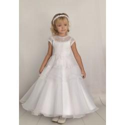 Handmade First Holy Communion Dress Style F06