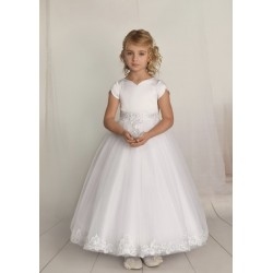 Handmade First Holy Communion Dress Style F07
