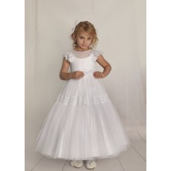 Handmade First Holy Communion Dress Style F08