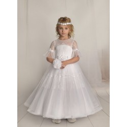 Handmade First Holy Communion Dress Style F09
