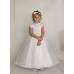Handmade First Holy Communion Dress Style F10