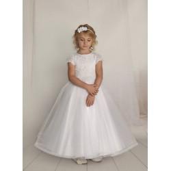 Handmade First Holy Communion Dress Style F10