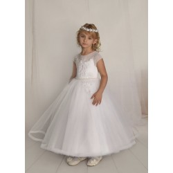 Handmade First Holy Communion Dress Style F11