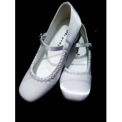 White First Holy Communion/Special Occasion Shoes Style 5804