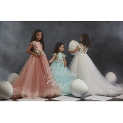 Ivory First Holy Communion Dress Style 24-3014