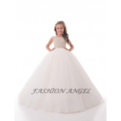 Ivory First Holy Communion Dress Style 17-0253