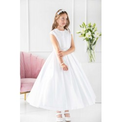 Celebrations White First Holy Communion Dress Style DAHLIA