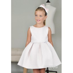 Pink/Silver Confirmation/Special Occasion Dress Style 513243SM