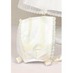 Baby Girl Ivory Christening Bonnet Style 512015G