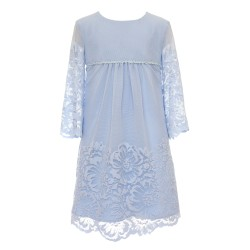 Blue Confirmation/Special Occasion Dress Style 25B/SM/20