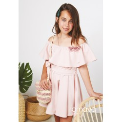Pink Confirmation/Special Occasion Dress Style 511205