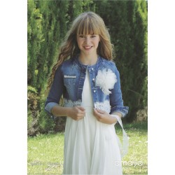 Denim Confirmation/Special Occasion Jacket Style 517809H