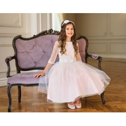 Pink Confirmation/Special Occasion Dress Style 26B/SM/20