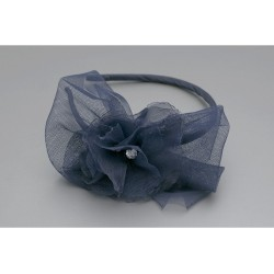 Navy Confirmation/Special Occasion Headband Style W-422