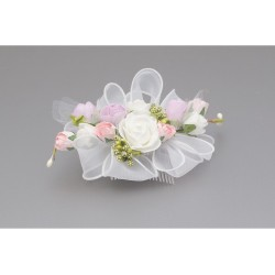 COLORFUL FIRST HOLY COMMUNION HEADDRESS STYLE WS-046