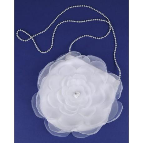 White Flower First Holy Communion Handbag Style 6.2.62.