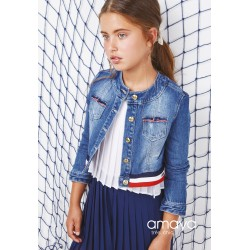 Denim Confirmation/Special Occasion Jacket Style 511612