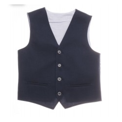 NAVY FIRST HOLY COMMUNION/SPECIAL OCCASION WAISTCOAT STYLE 10-10012