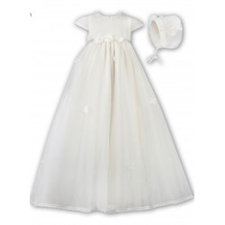 Sarah Louise Ivory Christening Gown Style 001056S