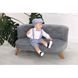 Baby Boy Christening Set Blue A013K