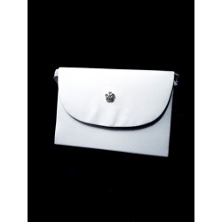 White First Holy Communion Handbag Style CB084