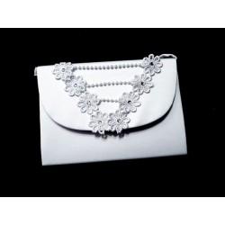 White First Holy Communion Handbag Style CB081