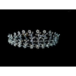 Lovely Silver First Communion Tiara 4213