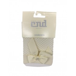 IVORY COMMUNION SPANISH SOCKS STYLE 4.594/4