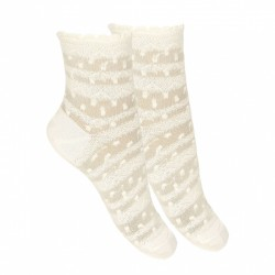 Ivory First Holy Communion Spanish Socks Style 2.790/4