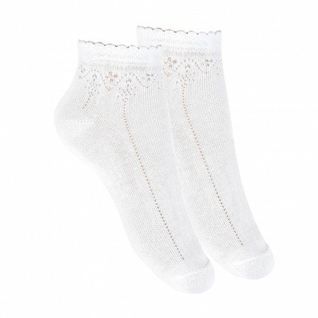 White First Holy Communion Socks Style 2.777/4