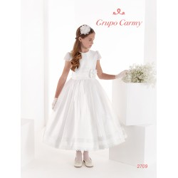 UNUSUAL IVORY FIRST HOLY COMMUNION DRESS STYLE 2709