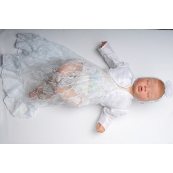 Lace Christening Dress Cornelia