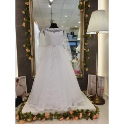 Handmade White First Holy Communion Dress Style HELENE