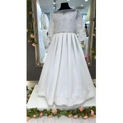 Handmade Ivory First Holy Communion Dress Style ASTRID