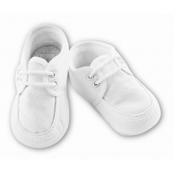 Classic White Baby Boy Christening/Special Occasion Shoes Sarah Louise style 004490