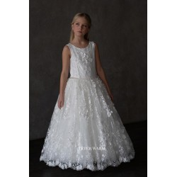Handmade Ivory First Holy Communion Dress by Teter Warm Style S20
