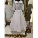 White Handmade First Holy Communion Dress Style RUBY