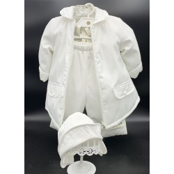 WHITE CHRISTENING/SPECIAL OCCASION SET STYLE K004