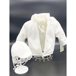 WHITE CHRISTENING/SPECIAL OCCASION SET STYLE K07