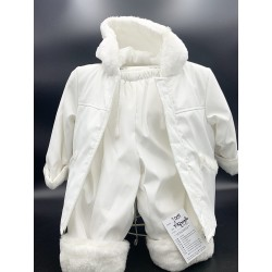 WHITE CHRISTENING/SPECIAL OCCASION SET J009