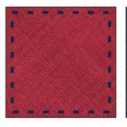 RED FIRST HOLY COMMUNION/SPECIAL OCCASION HANDKERCHIEF STYLE 10-08019B