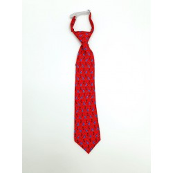 Spanish Red First Holy Communion Tie Style 10-08017