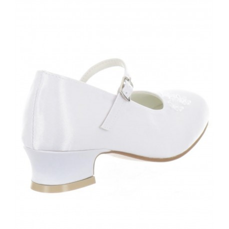 WHITE FIRST HOLY COMMUNION/SPECIAL OCCASION SHOES STYLE 5810