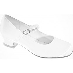 WHITE FIRST HOLY COMMUNION/SPECIAL OCCASION SHOES STYLE 5292